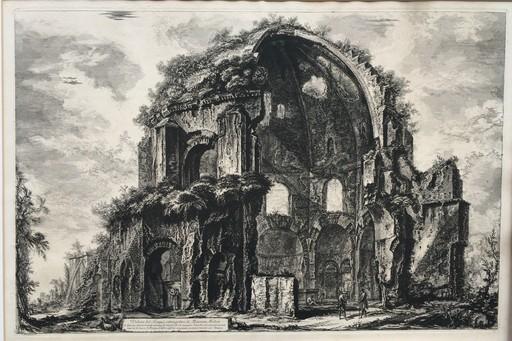 Giovanni Battista PIRANESI - Druckgrafik-Multiple - Veduta del Tempio ottangolare di Minerva Medica