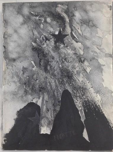 LELLO MASUCCI - Pittura - Studio per sacchi di notti napoletane