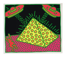 Keith HARING - Grabado - Plate II, from Fertility Suite