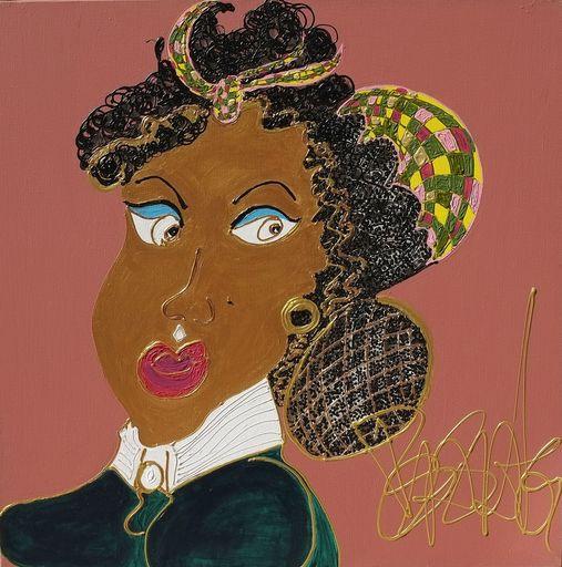 Isa SATOR - Painting - Jeanne Duval    (Cat N° 6742)