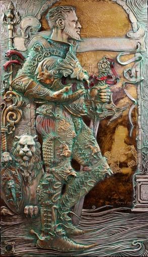 Viktor GORYAEV - 雕塑 - Lancelot
