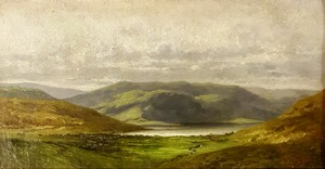 Jules ANDRÉ - Painting - paysage