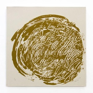 Günther UECKER - Print-Multiple - Ouroboros #6