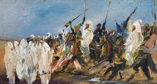 Louis ALBAN - Pintura - Fantasia