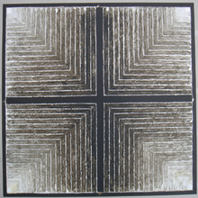 赛意德‧海德尔‧拉扎 - 版画 - Symboles 7