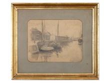 Johan-Barthold JONGKIND (1819-1891) - Shipping in Harbour