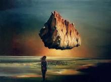 Gregor ZIOLKOWSKI - Gemälde - STRANGE NIGHT