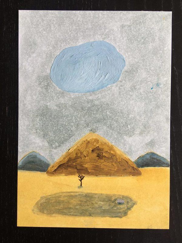 Martin FAURE - Drawing-Watercolor - « Sans-titre »