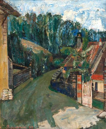 Joseph PRESSMANE - Painting - Chamvent