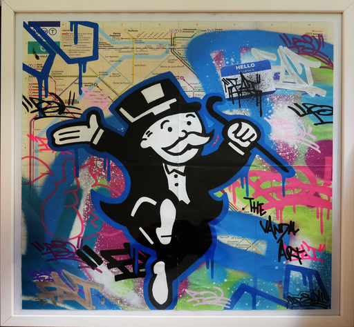 FAT - Painting - Mr Monopoly 1