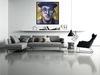 """DEN GUITTO - Peinture - """"Face à Face Keith Haring"""""""