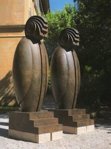 Franco ADAMI - Sculpture-Volume - horus