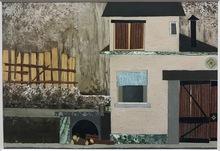 Pino PASCALI - Painting - scenografia Algida il Mulino