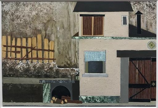 Pino PASCALI - Pintura - scenografia Algida il Mulino