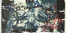 Jean-Paul RIOPELLE - Print-Multiple - Composition I, from: Album 67