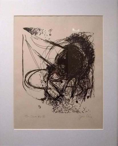 Jim DINE - Stampa-Multiplo - The Crash #5