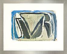 Abraham Gerardus VAN VELDE - Grabado - Composition en bleu et blanc
