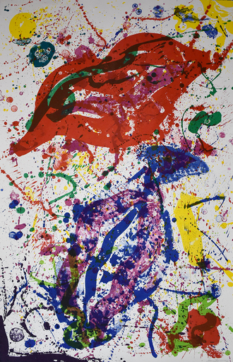 Sam FRANCIS - Stampa-Multiplo - Untitled (SF-329)