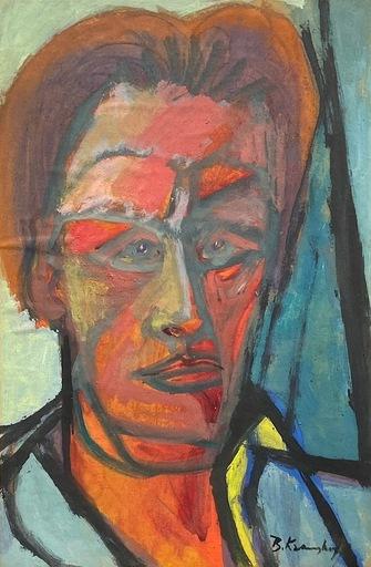 Bruno KRAUSKOPF - Gemälde - Self Portrait