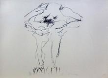 威廉•德•库宁 - 版画 - Clam Digger