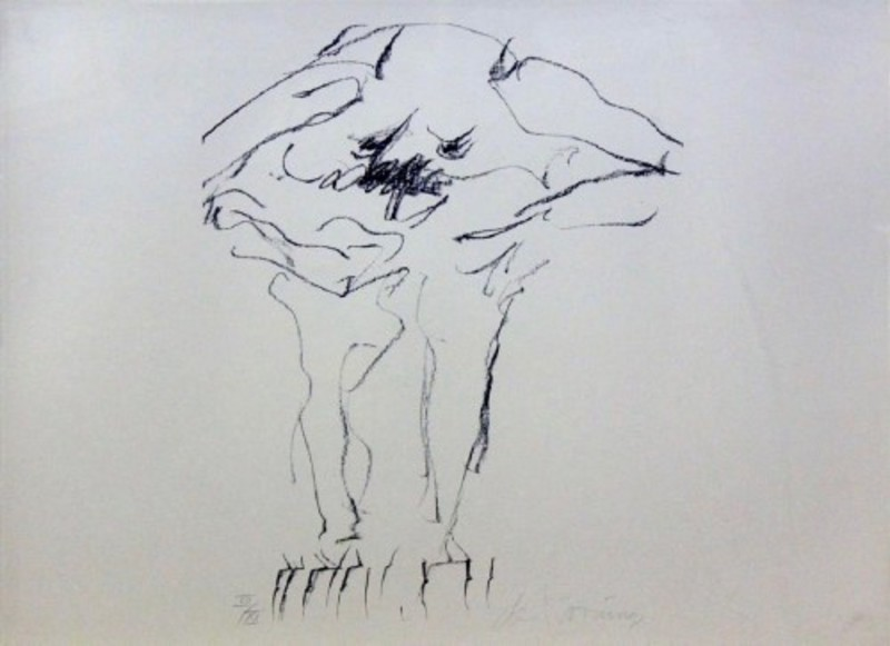 Willem DE KOONING - Grabado - Clam Digger