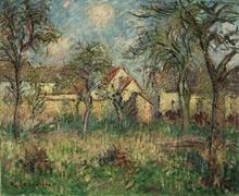 古斯塔夫·罗瓦索 - 绘画 - Le Jardin