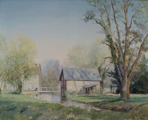 Daniel TRUSSART - Peinture - « Moulin à Pérruel sur Andelle (Eure) ».