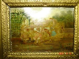 Antonio PEREZ RUBIO - Pintura - jour de fete 'II'