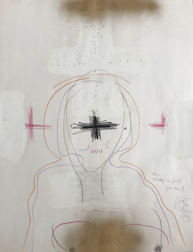 Hans BISCHOFFSHAUSEN - Drawing-Watercolor - Für den Bischof von Gurk