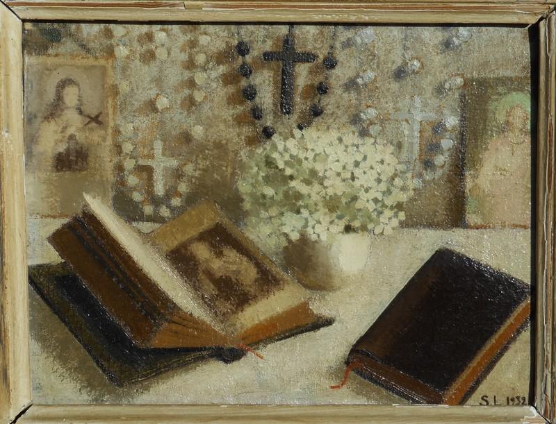 Suzanne LALIQUE - Peinture - DEVOTION