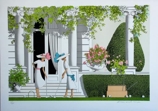 Denis Paul NOYER - Print-Multiple - LE CROQUET