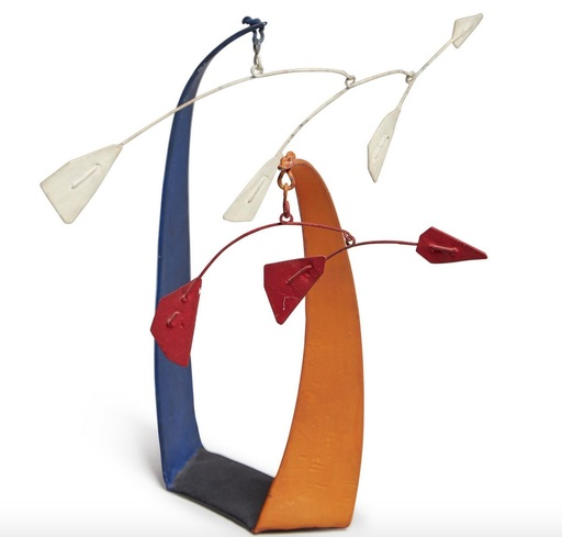Alexander CALDER - Sculpture-Volume - Red Flags, White Flags