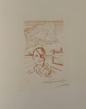 Salvador DALI - Estampe-Multiple - Famous Men Moshe Dayan