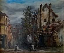 Raymond BESSE - Peinture - Montmartre