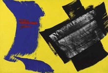 Gérard SCHNEIDER - Pintura - Composition 1972