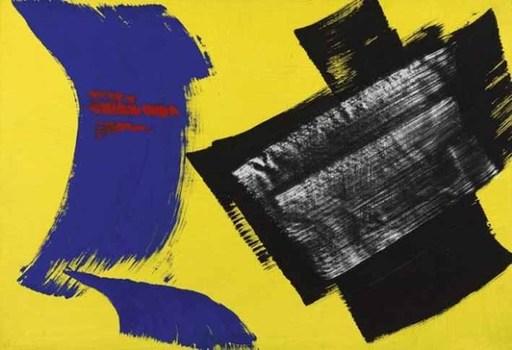 Gérard SCHNEIDER - Peinture - Composition 1972