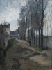 Camille PISSARRO - Painting - Le Chemin, Paysage Hivernal