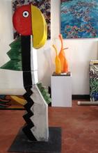 Jacky COVILLE - Escultura - perroquet
