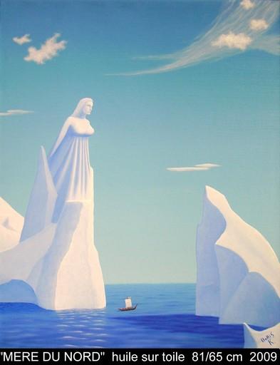 Boris KHELSTOVSKY - Peinture - Mère du Nord