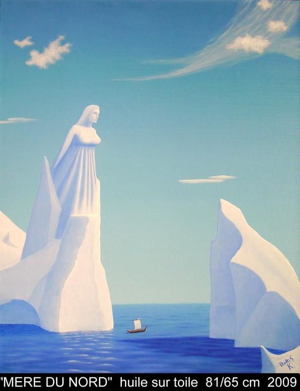 Boris KHELSTOVSKY - Painting - Mère du Nord