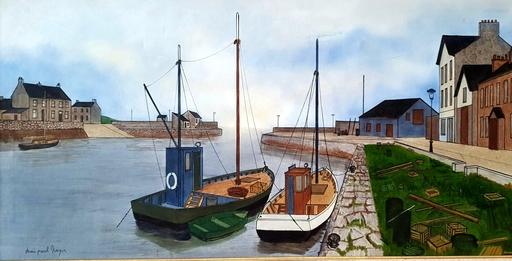 Denis Paul NOYER - Pittura - Boats