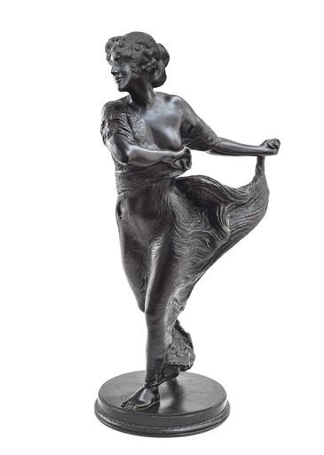 Franz VON STUCK - Escultura - Tänzerin
