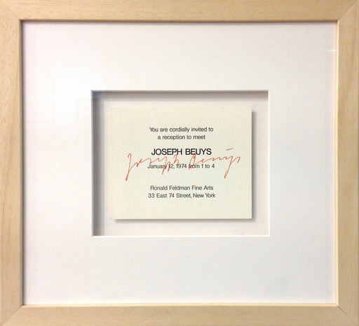 Joseph BEUYS - Print-Multiple - You're cordially invited