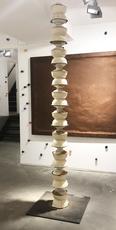 Pascale Marthine TAYOU - Escultura - Colonnes Pascales