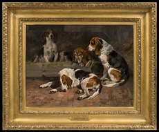 John EMMS - Pintura - Beagles – Fathers of the Pack