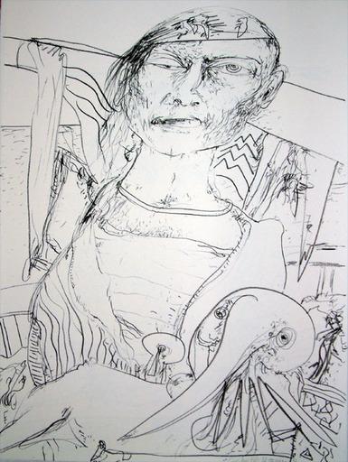 John BELLANY - Druckgrafik-Multiple - The Call of the Sea 3 - Pirate