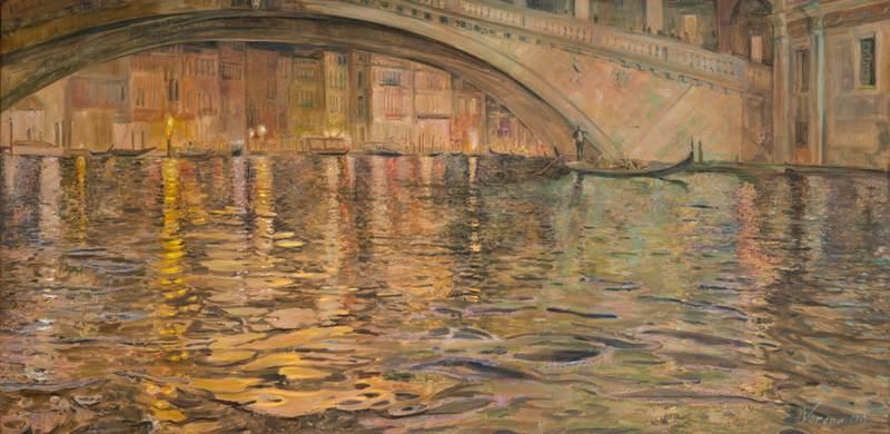 Ekaterina VORONA - Painting - Grand Canal