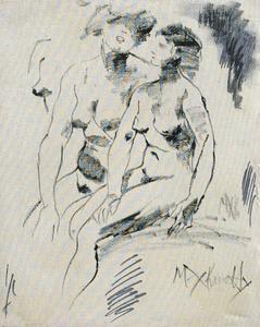 Max KUATTY - Peinture