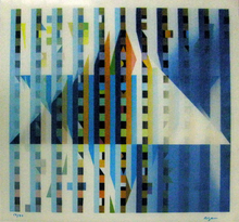 Yaacov AGAM (1928) - Star of light
