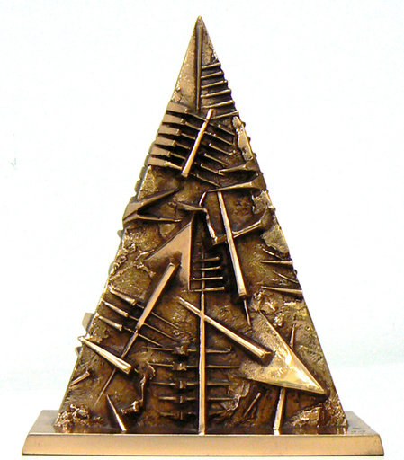 Arnaldo POMODORO - Sculpture-Volume - Triangolo